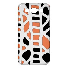 Orange Decor Samsung Galaxy Mega 5 8 I9152 Hardshell Case