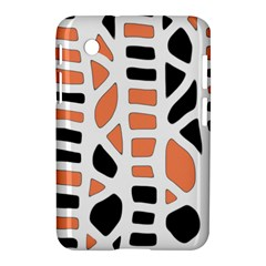 Orange decor Samsung Galaxy Tab 2 (7 ) P3100 Hardshell Case