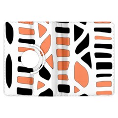 Orange decor Kindle Fire HDX Flip 360 Case