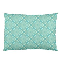 Light Blue Lattice Pattern Pillow Case (two Sides)