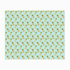 Tropical Watercolour Pineapple Pattern Small Glasses Cloth