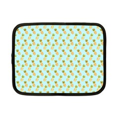 Tropical Watercolour Pineapple Pattern Netbook Case (Small)