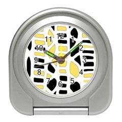 Yellow decor Travel Alarm Clocks