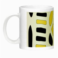 Yellow decor Night Luminous Mugs