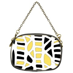 Yellow decor Chain Purses (Two Sides)