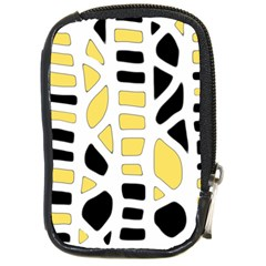 Yellow decor Compact Camera Cases