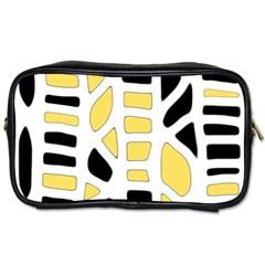 Yellow decor Toiletries Bags