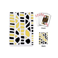 Yellow decor Playing Cards (Mini)