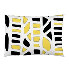 Yellow Decor Pillow Case (two Sides)