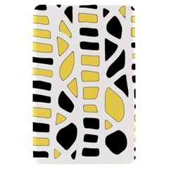 Yellow decor Kindle Fire (1st Gen) Hardshell Case