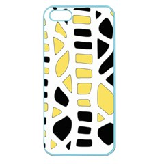Yellow decor Apple Seamless iPhone 5 Case (Color)