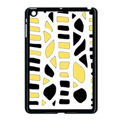Yellow decor Apple iPad Mini Case (Black)