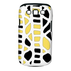 Yellow decor Samsung Galaxy S III Classic Hardshell Case (PC+Silicone)