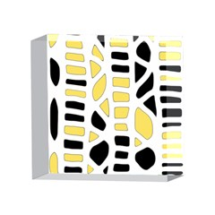 Yellow decor 4 x 4  Acrylic Photo Blocks