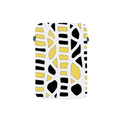 Yellow decor Apple iPad Mini Protective Soft Cases