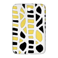Yellow decor Samsung Galaxy Note 8.0 N5100 Hardshell Case