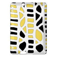 Yellow decor Kindle Fire HDX Hardshell Case