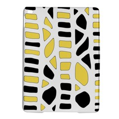 Yellow decor iPad Air 2 Hardshell Cases