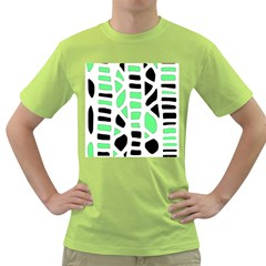 Light green decor Green T-Shirt
