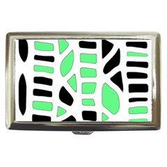 Light green decor Cigarette Money Cases