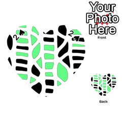 Light green decor Playing Cards 54 (Heart)
