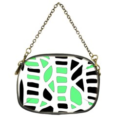 Light green decor Chain Purses (One Side)