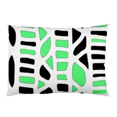 Light green decor Pillow Case (Two Sides)