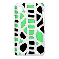 Light green decor Samsung Galaxy S i9008 Hardshell Case