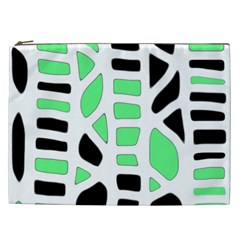 Light green decor Cosmetic Bag (XXL)