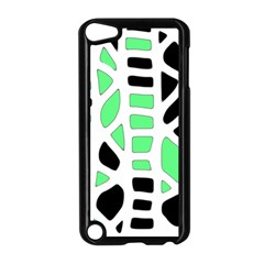 Light green decor Apple iPod Touch 5 Case (Black)