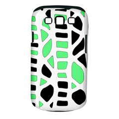Light green decor Samsung Galaxy S III Classic Hardshell Case (PC+Silicone)