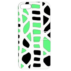 Light green decor Apple iPhone 5 Hardshell Case with Stand