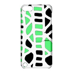 Light green decor Apple iPod Touch 5 Hardshell Case with Stand