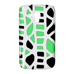 Light green decor Samsung Galaxy Duos I8262 Hardshell Case
