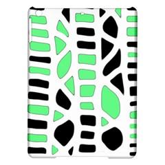 Light green decor iPad Air Hardshell Cases
