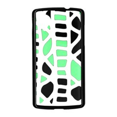 Light green decor Nexus 5 Case (Black)