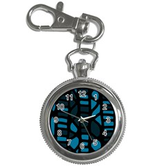 Deep blue decor Key Chain Watches