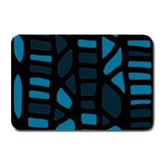Deep blue decor Plate Mats