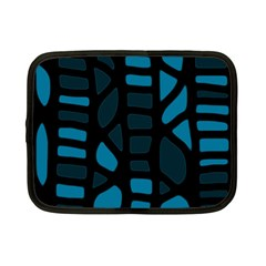 Deep blue decor Netbook Case (Small)