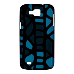 Deep blue decor Samsung Galaxy Premier I9260 Hardshell Case