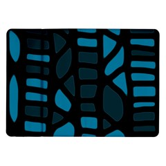 Deep blue decor Samsung Galaxy Tab 10.1  P7500 Flip Case