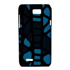 Deep blue decor Motorola XT788