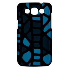 Deep blue decor Samsung Galaxy Win I8550 Hardshell Case