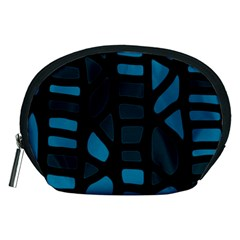 Deep blue decor Accessory Pouches (Medium)