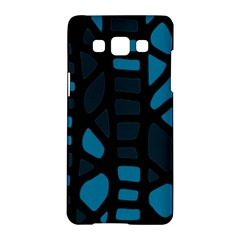 Deep blue decor Samsung Galaxy A5 Hardshell Case
