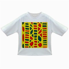 Yellow, green and red decor Infant/Toddler T-Shirts