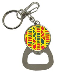Yellow, green and red decor Bottle Opener Key Chains