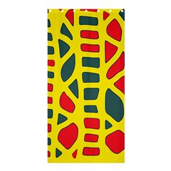 Yellow, green and red decor Shower Curtain 36  x 72  (Stall)