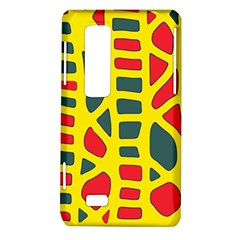 Yellow, green and red decor LG Optimus Thrill 4G P925