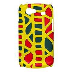 Yellow, green and red decor Samsung Galaxy Nexus S i9020 Hardshell Case